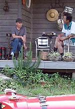 小さな小屋にワラを敷き詰めて暮らしたい