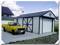 L字型でガレージと工房に分けて 宮城のSさんより ガレージ名:スペリオール