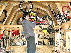 サイクルガレージ