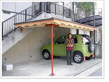 オーダーメイド木製カーポート 京都府のN☆GYさん