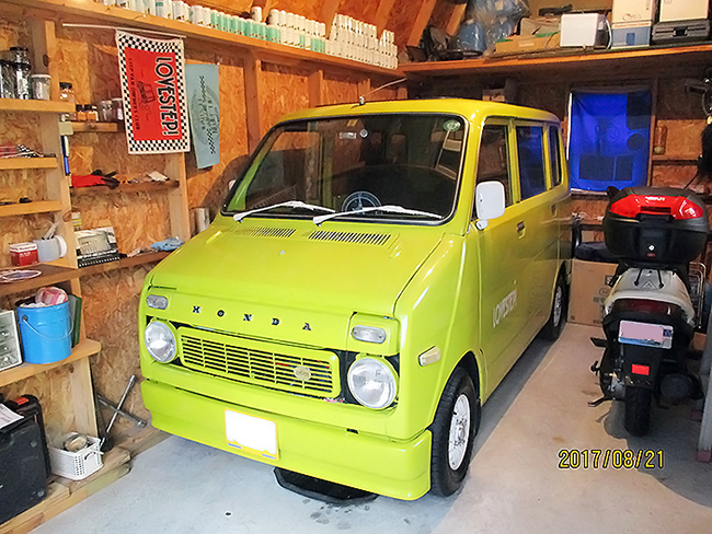 あれから12年経ちました。 広島のmassyさんより ガレージ名:バークレー10 × 16