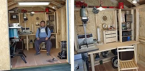 リフォームしている職人さんを見ていると自分でも出来るのではないかと思ってしまった。 神奈川県のポーラさん ガレージ名:ブラッドフォード8×8