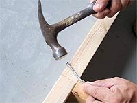釘とビスの打ち方の基本
