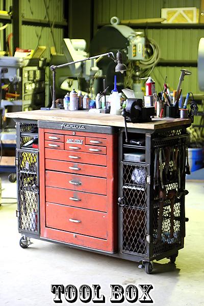 ガレージファニチャー| Tool BOX(ツールボックス)