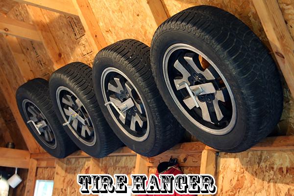 ガレージファニチャー| Tire Hanger(タイヤハンガー)