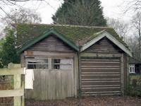British Garage in 1950's