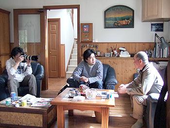 Meeting in my living room