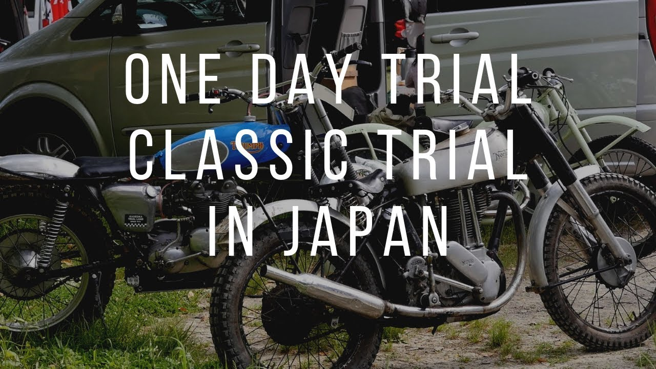 ONE DAY TRIAL Classic trial in Japan【HONDA KAWASAKI Suzuki Triumph ARIEL BSA montesa BULTACO 】