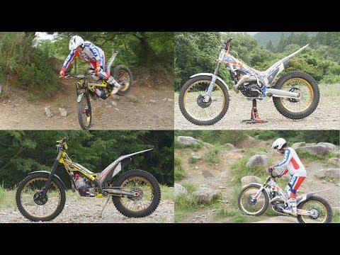 【インプレ】TRRS gold BETA Factory 【トライアルバイク MOTO TRIAL 試乗しました!】