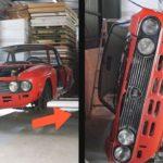 """<span class=""""title"""">旧車 ボディのレストア錆との戦い Lancia Fulvia レストアプロジェクト</span>"""