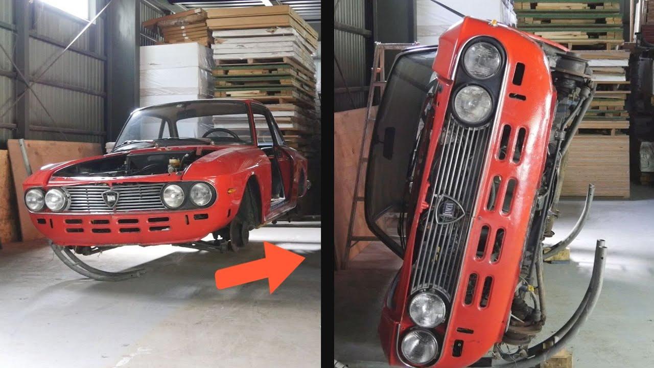 旧車 ボディのレストア錆との戦い Lancia Fulvia レストアプロジェクト