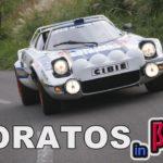 """<span class=""""title"""">旧車 阿蘇山でストラトスを走らせる!LANCIA STRATOSグループ4</span>"""